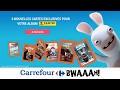 Les Lapins Crétins font leur cinéma chez Carrefour ! (Mai 2017)