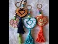 "crochet ""porte clés en forme de coeur"" facile"