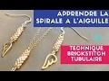 DIY ┋ PARURE BIJOUX PERLES - MIYUKI // SPIRALE à L'AIGUILLE - Technique BRICKSTITCH TUBULAIRE