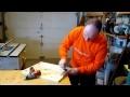 Comment fabriquer un gabarit de coupe de cercle à la scie à ruban. Parlons bois Ep.176