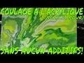 TECHNIQUE DE COULAGE A L'ACRYLIQUE (ACRYLIC POURING) SANS AUCUN ADDITIFS!