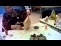 démonstration peinture sur céramique par mme Anissa