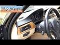 Comment démonter les inserts sur BMW E90