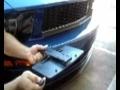 Support de plaque d'immatriculation rétractable télécommandé pour voiture  - MTK -