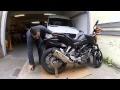 115..ASTUCE lever la moto sans bequille centrale ou d'atelier