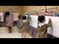 Happy : musique et peinture sur le theme de la joie en atelier avec des enfants à Kid&sens