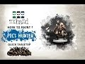 How to paint : Pict Hunter Quick Tabletop