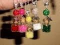 Tuto DIY collier fiole et perles de rocailles