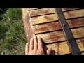 Entretien volet  bois (méthode)