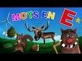 Foufou - Les mots commençant par E pour les enfants (Learn words starting with E for kids) 4k