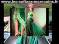 Collection Caftans et takchitas couleur vert