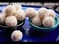 Petits Gâteaux Noix de Coco - Confiture Par Quelle-Recette