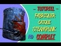 FABRIQUER CASQUE CHEVALIER STEAMPUNK #COMPLET - TUTORIEL MAQUETTE COSPLAY