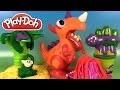 Play Doh Chomposaurus Pâte à modeler Dinosaures Animaux de la Jungle Monde Préhistorique