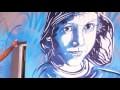 Projet 100 Murs pour la jeunesse C215 Sarcelles 2016