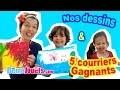 Coloriage en famille & 5 COURRIERS GAGNANTS de fans ! Démo Jouets