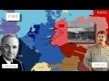 L'Allemagne et Berlin, symboles de la Guerre froide (1945-1990) ( carte animée)