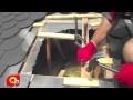 Installation Sortie de toiture - Poêle à bois