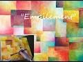 """""""Empilement"""" - Peinture Acrylique Colorée Facile"""