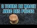Un magicien vous révèle 3 super tours de magie avec des pièces de monnaie
