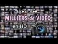 Avoir des MILLIERS de VIDEOS en HD pour tes vidéos Youtube