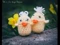 Crochet pour débutant / Poussin Kinder Surprise. Facile