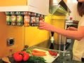 Carrousel à épices 20 flacons - Winchef - Cuisine pratique