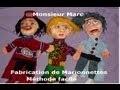 Fabrication de marionnettes avec Monsieur Marc