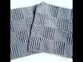Tutoriel : Petite Couverture Relief au Crochet