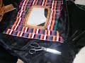 Suite de la couture la robe kabyle noir