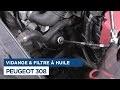 Faire la Vidange et changer le Filtre à Huile sur Peugeot 308