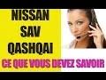 SAV Nissan Qashqai Turbo HS - Pb résolu par Nissan DPL Vert St Debis