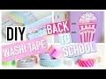 DIY Back To School Facile : WASHI TAPE (français)