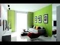 Idées décoration de salon en gris et vert