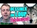 PETIT BONUS - COMMENT DESSINER UN LOUP FACILEMENT (NORMAN)