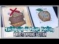 [TUTORIEL] Technique du Paper Piecing avec Tampons Action