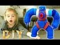 DIY : Confection d'un robot à partir de bouchons de bouteilles en plastique !