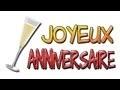 Joyeux Anniversaire en francais - carte d'anniveraire surprise