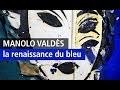 Manolo Valdès irradie l'Opéra Gallery de son Bleu Azur - Vidéo YouTube