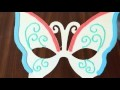 DIY MASQUE PAPILLON DOH VINCI