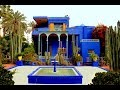 Majorelle Garden Marrakech - Yves Saint Laurent Home