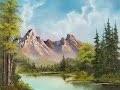 la peinture a l'huile c'est pas difficile (comment peindre les montagnes)