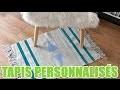 Apprenez à customiser vos tapis avec youMAKEfashion