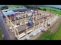LIGNA systems®, votre spécialiste en ossatures bois pour bâtiments industriels et commerciaux