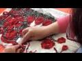 TUTO crochet irlandais en français point de fond sur cordonnet roumain