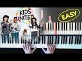 On ecrit sur les murs - tutorial - Piano facile