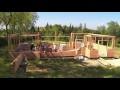 Montage d'une Maison Brikawood (HD 1080p) - Brikawood International