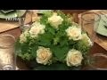 Art floral : un centre de table rond - Jardinerie Truffaut TV