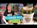 Flower Pot Entryway Piece