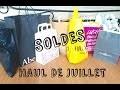 Haul Vêtements - Soldes Juillet